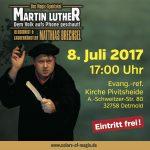 """Matthias Drechsel: """"Martin Luther – Dem Volk aufs Phone geschaut"""""""